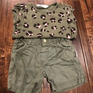 H&M toddler girls outfit.